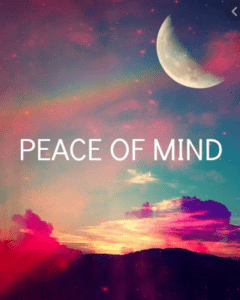 I'm So Ready for Peace of Mind